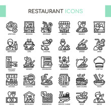 Restaurant , Thin Line And Pix...