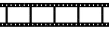 Blank Film Strip Isolated On W...