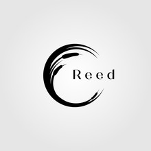 Reed River Grass Letter C Init...
