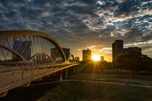 Fort Worth Skyline Sunrise W/7...