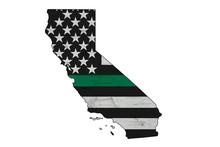 American Thin Green Line Flag ...