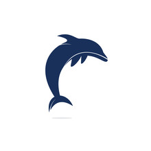 Dolphin Vector Logo Design. Cr...