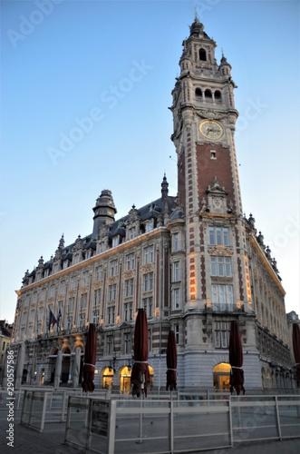 majestic belfry Lille France Fototapete