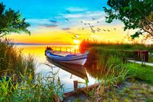 Barca Escondida Entre La Natur...
