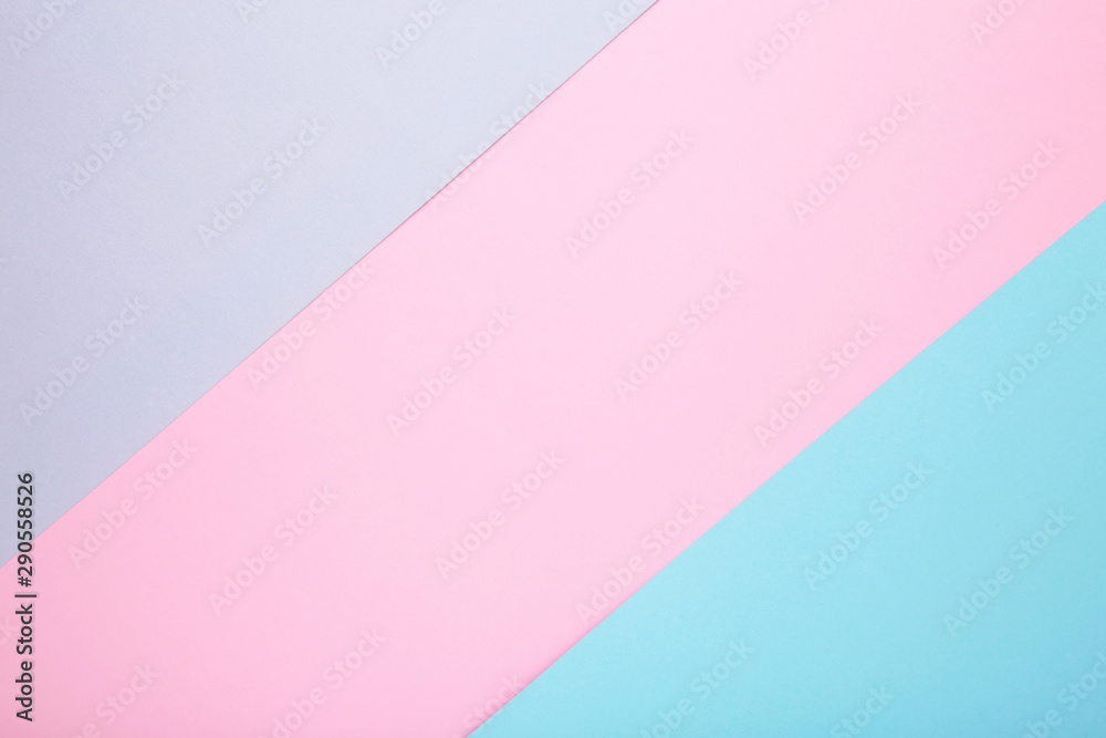 Fototapety, obrazy: Multicolor background from a paper of different colors, pastel