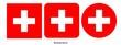 canvas print picture - Switzerland flag