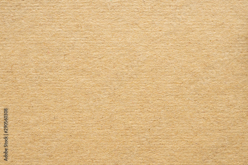 Fototapeta Brown eco recycled kraft paper texture cardboard background obraz