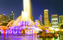 View Of Buckingham Fountain At...