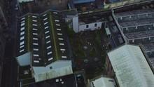 Aerial Of Inner Courtyard In G...