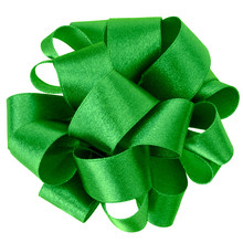 Big Round Bow In Green Color I...