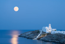 Church Of Panagia Chrisopigi In Sifnos Island, Greece