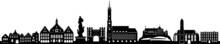 Landshut City Skyline Vector S...