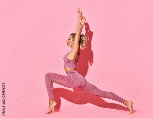 Fit and healthy woman Canvas Print