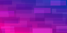 Abstract Background Of Intersecting Rectangles Consisting Of Dots, In Purple Colors