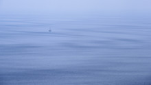 Painting The Loneliness In The Ocean