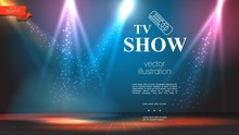 TV Show Bright Colorful Background