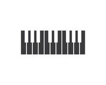Piano Icon Vector Illustration...