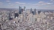 Aerial view of Philadelphia skyline