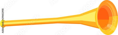 Fotografia  Trumpet in 3D vector icon
