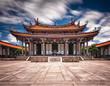 Leinwanddruck Bild - Taipei Confucius Temple in dalongdong Taipei