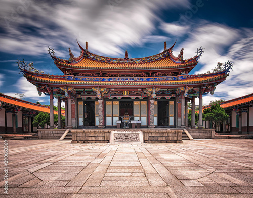 Photo Stands Place of worship Taipei Confucius Temple in dalongdong Taipei