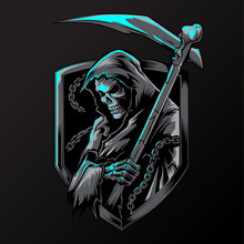 Chain Angel Of Death Devil Vector