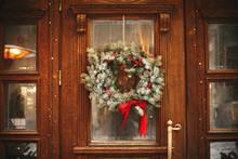 Stylish Christmas Wreath With ...