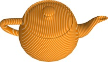 3d Rendering Of Teapot On Whit...