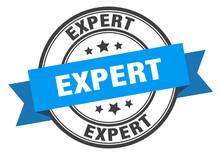 Expert Label. Expert Blue Band...
