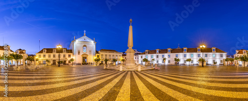 Photo Panoramic photo of Praça Marquês de Pombal, Vila Real de Santo António, Algarve,