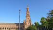 The amazing Spain Square, Plaza de Espana en Seville