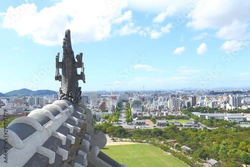 Foto op Plexiglas Parijs 国宝姫路城