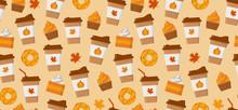 Pumpkin Spice Latte Season. Co...