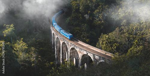 Fotomural  Demodara nine arch bridge, Ella, Sri Lanka