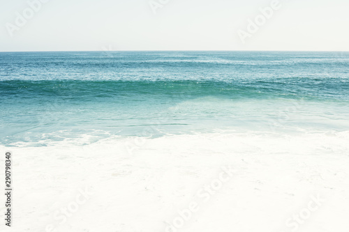 Fotomural  Ocean and sea water, zen and peaceful and calm