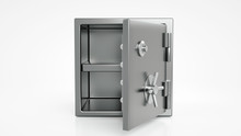 Security Metal Safe With Empty...