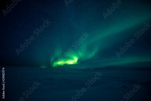 Poster Aurore polaire Northern lights aurora borealis