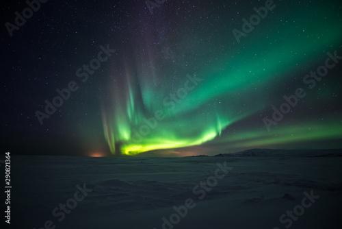 Photo Stands Northern lights Northern lights aurora borealis