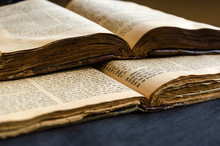 Jewish Bible. An Open Old Jewi...