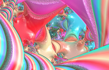 Colored Abstract Grazy Fractal...