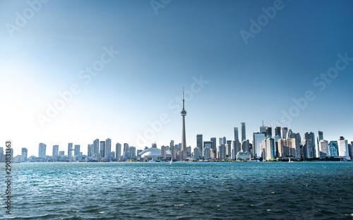 Foto auf Gartenposter Shanghai Toronto city skyline, Ontario, Canada