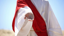 Jesus Hand Holding Key, Disclo...