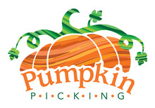 Vector Illustration Of Pumpkins Icon. Pumpkins Sign For Farm Stand