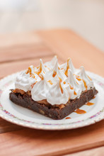Brownie Cream Chocloate Dessert