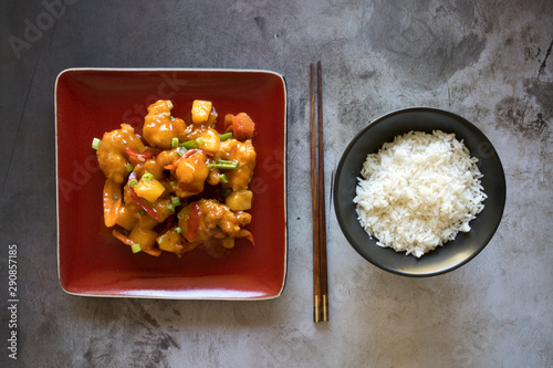 Photo  Sweet and Sour Shrimp