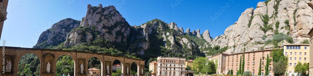 Fototapeta Spain, Barcelona, Santa Maria de Montserrat Abbey