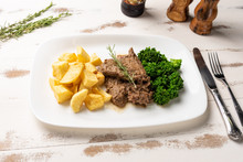 Beef Stew With Rustic Potato A...