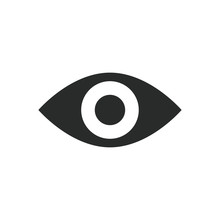 Eye Icon Vector Design Illustr...