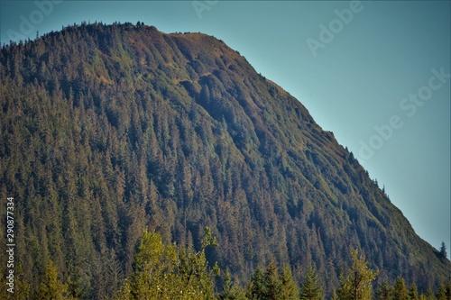 An Alaskan Mountain Ridge.