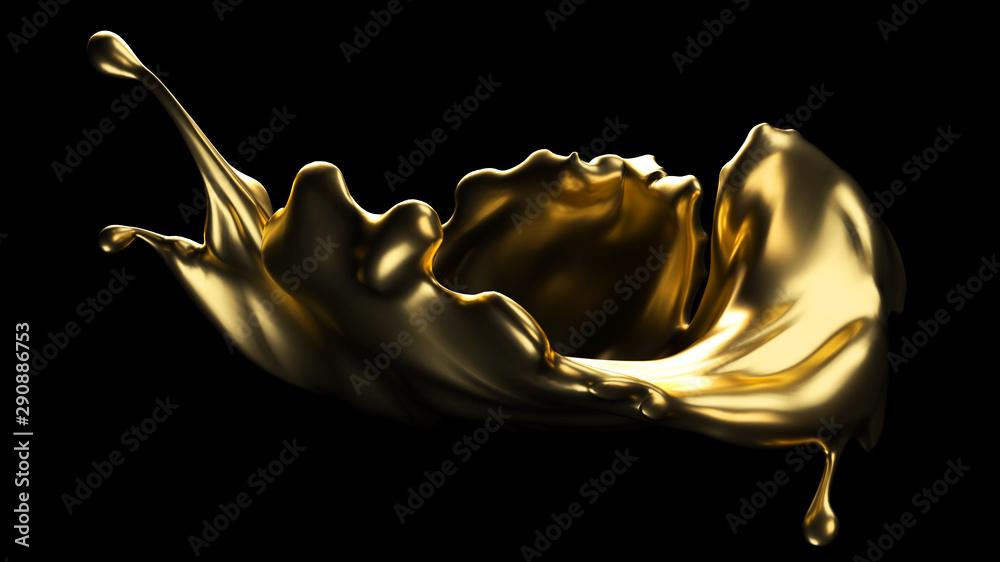 Fototapety, obrazy: 3D Splash